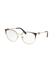 Bvlgari Full Rim Cat Eye Brown/Gold Frame for Women, BV2203-2034, 54/18/140