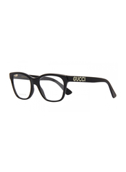 Gucci Full Rim Square Black Frame for Women, GU-0420/O-001, 52/18/140