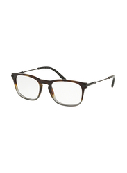 Bvlgari Full Rim Rectangle Havana Grey Frame Unisex, BV303857, 54/19/145