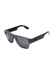 Carrera Full Rim Square Grey Sunglasses for Boys, Grey Lens, CA-CARERIN15-KVT486E, 48/15/125