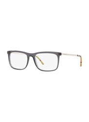 Burberry Full Rim Rectangle Grey Frame for Men, BU-2274-3544, 55/18/145