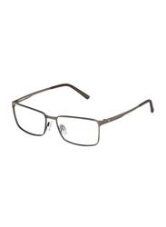 Rodenstock Full Rim Square Grey Frame for Men, RS-R2608-C140-5416, 54/16/140