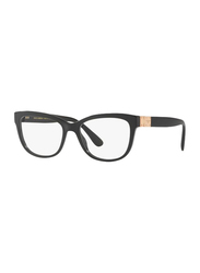 Dolce & Gabbana Full Rim Square Black Frame for Women, DG3290-501, 54/17/140