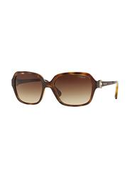 Vogue VO2795S W65613 Tortoise VO2795S Round Sunglasses Lens Category 3 Size 53m