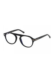 Tom Ford Full Rim Round Black Frame for Men, FT-5533-B01V49, 48/21/140