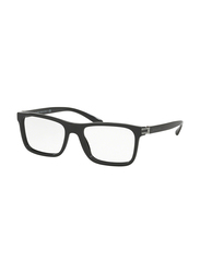 Bvlgari Full Rim Rectangle Black Frame Unisex, BV3029-501, 55/18/140