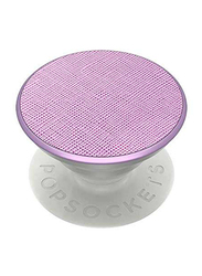 PopSockets Metallic Stand and Grip, Saffiano Lilac