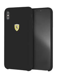 Ferrari Apple iPhone XS Max SF Silicone Back Case, Black