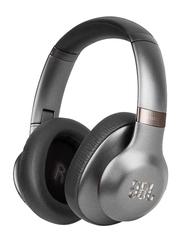 JBL T750 Wireless Over-Ear Noise-Cancelling Headphones, Black