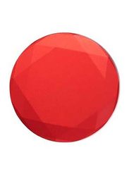 PopSockets Stand and Grip, Red Metallic Diamond