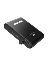 RAVPower 27000mAh Universal Power Bank with Built-in AC Outlet, Black