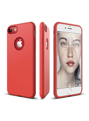Elago Apple iPhone 8/7 Slim Fit Soft TPU Back Case, Red