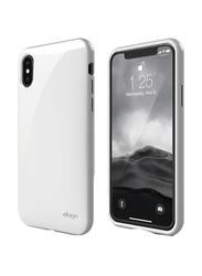 Elago Apple iPhone X Cushion TPU Back Case, White