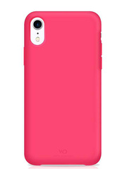 White Diamonds Apple iPhone XR Fitness Mobile Phone Back Case Cover, Pink