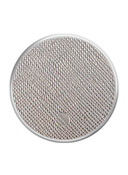 PopSockets Metallic Stand and Grip, Saffiano Silver