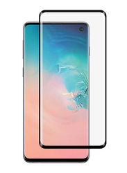 Porodo Samsung Galaxy S10 3D Full Covered Tempered Glass Screen Protector, Black