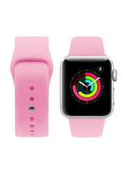 Porodo Silicone Band for Apple Watch 40mm/38mm, Pink