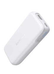 Rav Power 10000mAh 2-Port PD Power Bank with USB Type-C Input, 29W, White