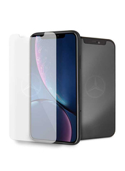 Mercedes-Benz Apple iPhone XR Tempered Glass Screen Protector, Clear