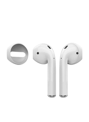 AhaStyle Fit in the Ear Case Covers for Apple AirPods, 3 Pairs, White