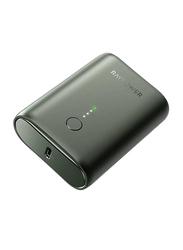 Rav Power 10000mAh PD Pioneer Mini Power Bank with USB Type-C Input, Dark Green