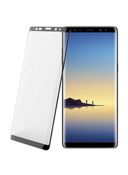 Porodo Samsung Galaxy Note 8 3D Full Covered Glass Screen Protector, Black