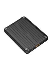 Viva Madrid 8000mAh Vimax Air Fast Charging Power Bank with USB Type-A/USB Type-C/Micro-USB Input, Black