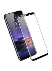 Porodo Samsung Galaxy S9 3D Full Covered Glass Screen Protector, Black