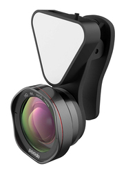 Porodo 3 in 1 Phone Camera Lens, Black