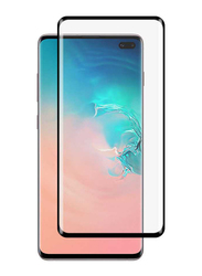 Porodo Samsung Galaxy S10 Plus 3D Full Covered Tempered Glass Screen Protector, Black