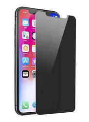 Porodo Apple iPhone X Tempered Glass Privacy Screen Protector, Black
