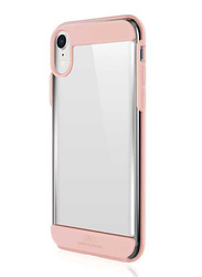 White Diamonds Apple iPhone XR Innocence Mobile Phone Back Case Cover, Clear Rose Gold