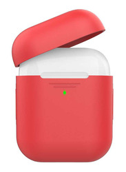 AhaStyle Premium Silicone Case for Apple AirPods, Red