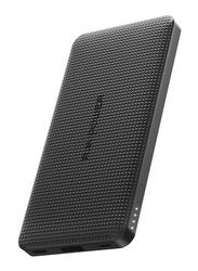 RAVPower 10000mAh Blade Series PD18W Slim Power Bank, Black
