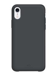 White Diamonds Apple iPhone XR Fitness Mobile Phone Back Case Cover, Dark Gray