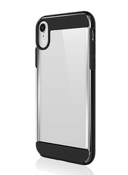 White Diamonds Apple iPhone XR Innocence Mobile Phone Back Case Cover, Clear Black