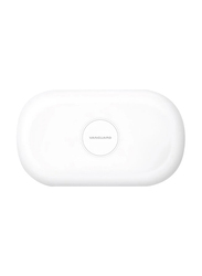 Viva Madrid Vanguard Vault Pro Wireless Charger, 10W with UV Sanitizing Box, White
