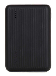 Viva Madrid 10000mAh Vimax Nuro Power Delivery Power Bank with QC 3.0 and USB-C Ports, Black