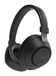 Porodo Soundtec Deep Sound Wireless Over-Ear Headphones, Black