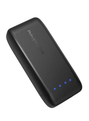 RAVPower 6700mAh Power Bank with iSmart 2.0 Technology, Black