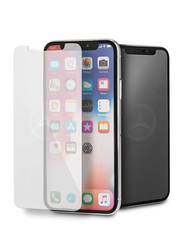 Mercedes-Benz Apple iPhone X/XS Tempered Glass Screen Protector, Clear
