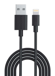 Rav Power 2/1/0.2-Meters 3-Pieces Lightning Cable, High Performance USB A Male to Lightning for Smartphones/Tablets, Black