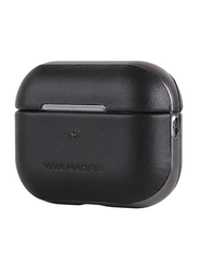 Viva Madrid Airex Allure Leather Case for Apple AirPods Pro, Black
