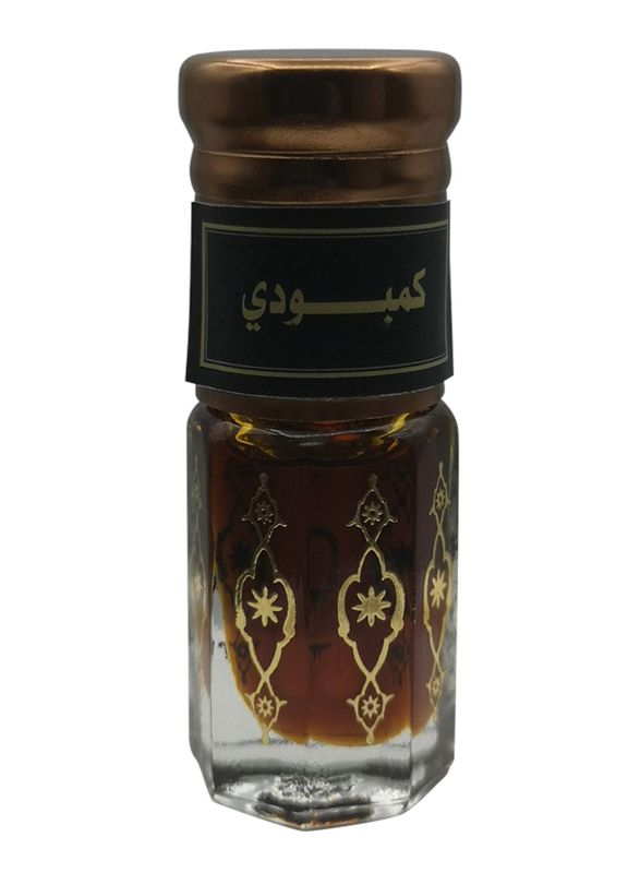 Fares Al Teeb Mix Cambodian Oud 3ml Perfume Oil Unisex