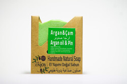 Suds Enjoy Argan Oil & Pine Natural Soap, 100 gm