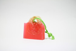Suds Enjoy Rose Loofah Glycerin Natural Soap, 180 gm