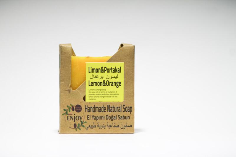 Suds Enjoy Lemon & Orange Natural Soap, 100 gm
