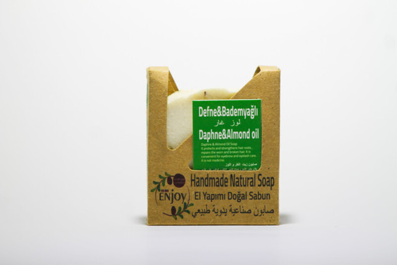 Suds Enjoy Daphne & Almond Oil Natural Soap, 100 gm