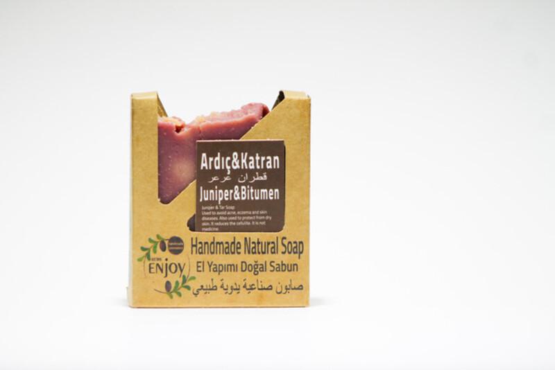 Suds Enjoy Juniper Tar Natural Soap, 100 gm