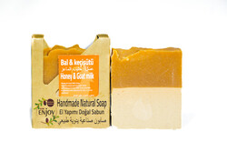 Suds Enjoy Honey & Goat milk Natural Soap, 100 gm